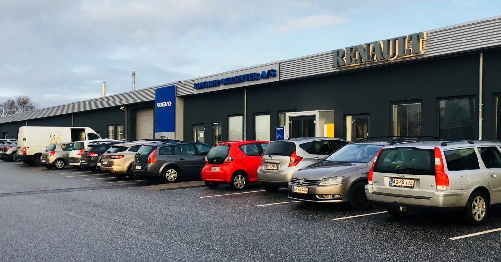 Volvo, Renault, Dacia, Nissan, Værksted