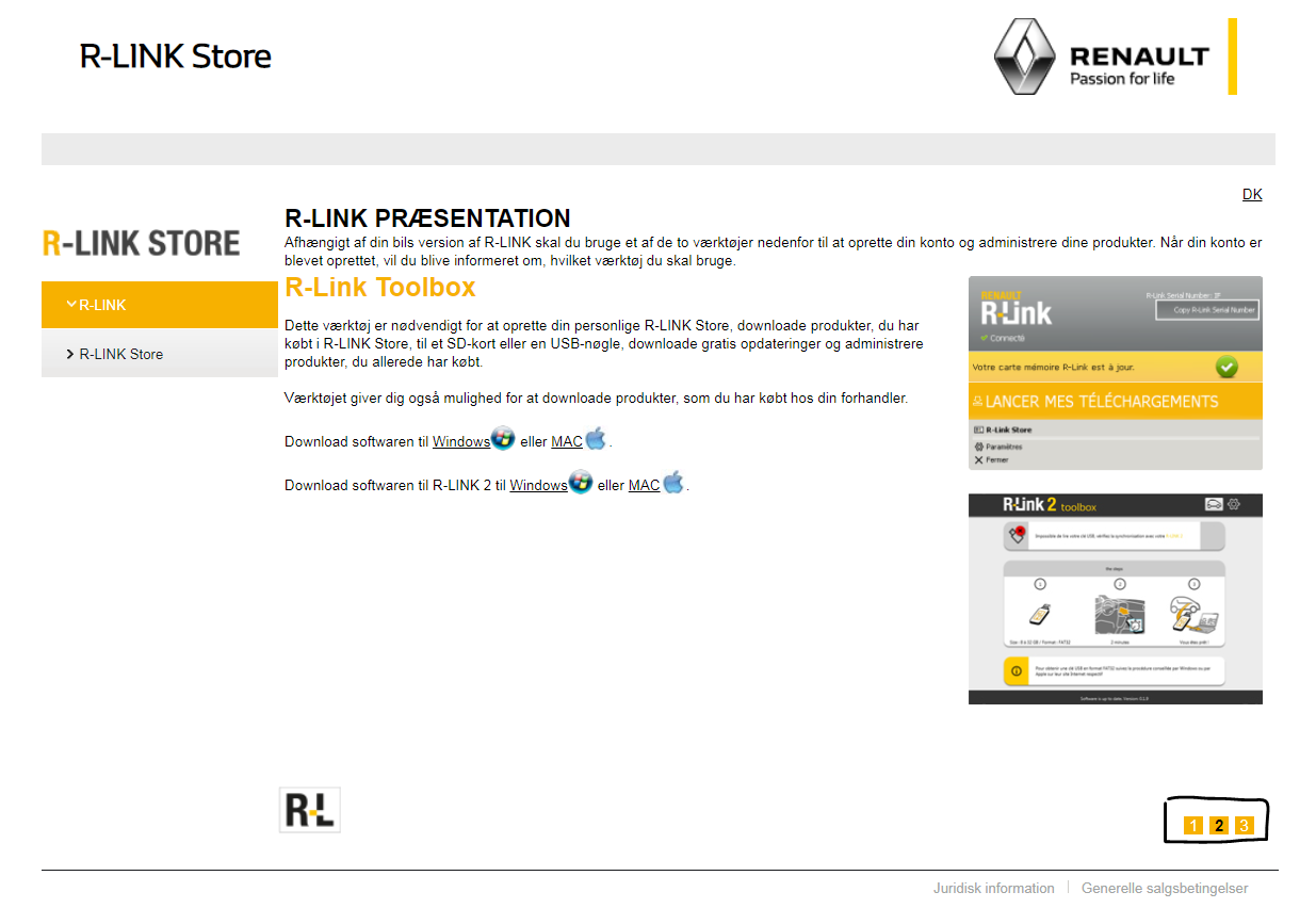 downloading the r-link 2 toolbox