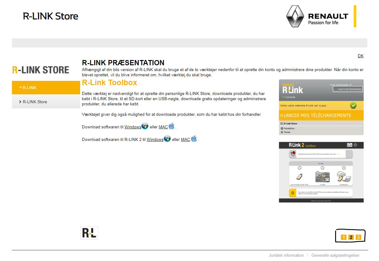 Opdatering af R-Link - Sondrup Bilcenter A/S